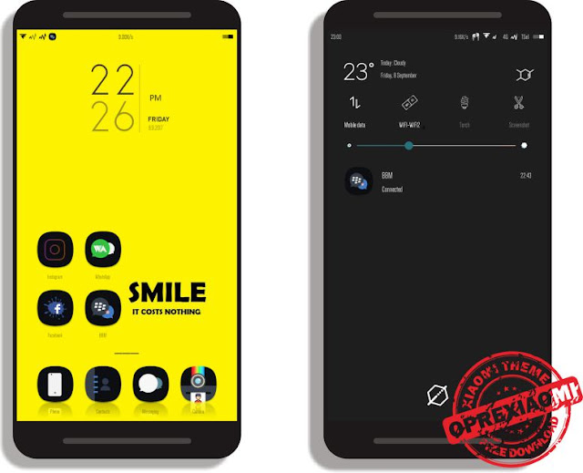Tema Xiaomi Brut.Error.V.2 Mtz Full Mod Paling Keren Dan Wajib Kamu Download