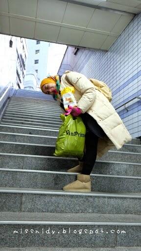 tangga subway station di korea