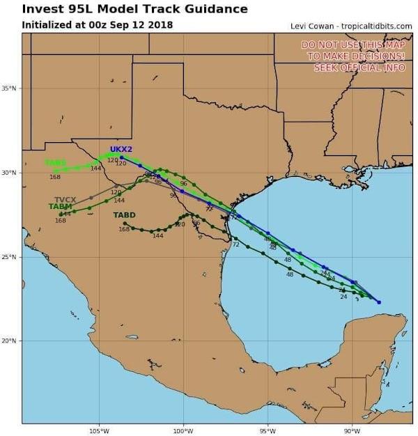 ALERTAS: Tormenta Tropical Podría Impactar Entre Texas Y Tamaulipas