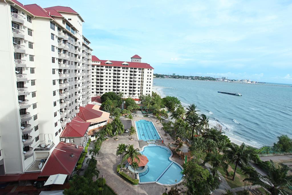Apartment Port Dickson tepi pantai yang ada kolam renang