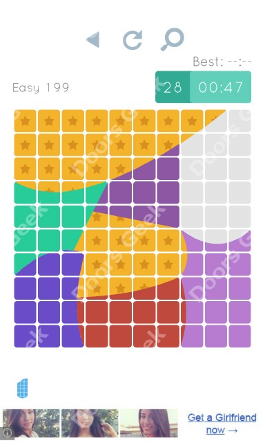 Cheats, Walkthrough for Blocks and Shapes Level 199