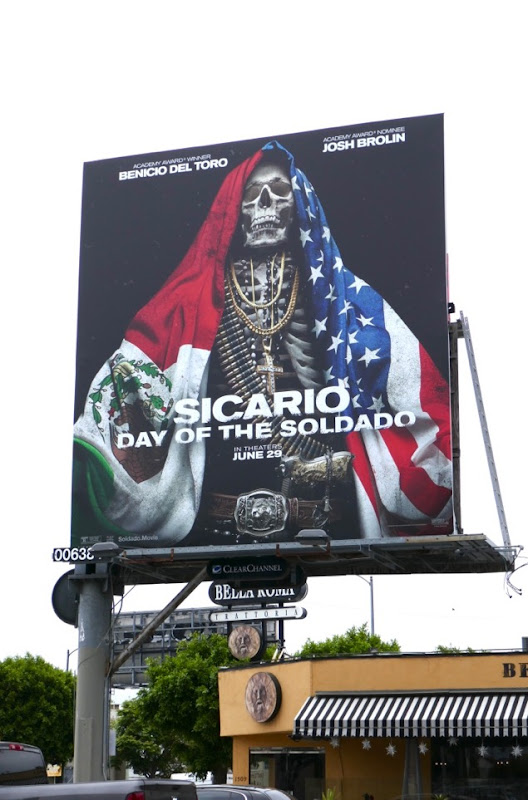 Sicario Day of the Soldado billboard