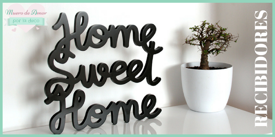 Ideas para decorar recibidores pequeños