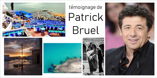 Patrick Bruel: Il faut aller en Tunisie.. L'un des plus beau pays du monde (vidéo)