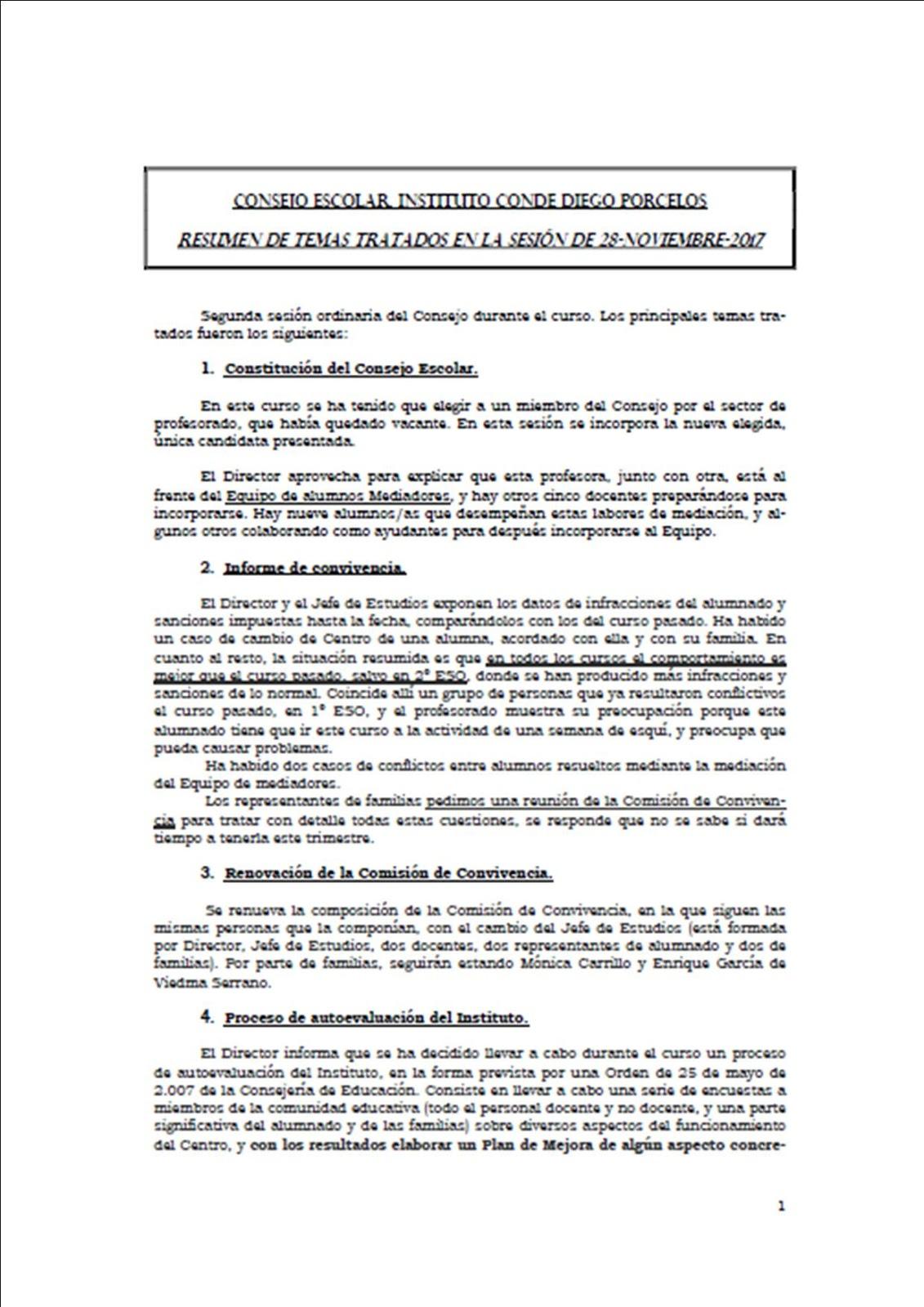 AMPA Camino de la plata del I.E.S. Diego Porcelos de Burgos: Consejo ...
