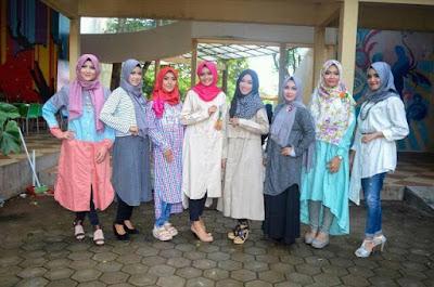 Model Hijab Modis Untuk Santai Sehari-hari