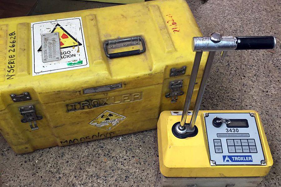 El artefacto se usaba en obras hidroeléctricas de Sinohydro en Cochabamba / WEB / FOTO REFERENCIAL