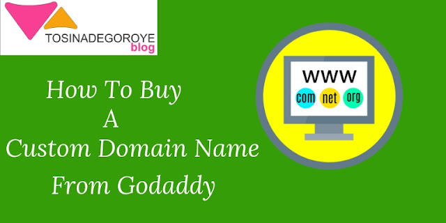 How to buy a custom Domain Name From Godaddy