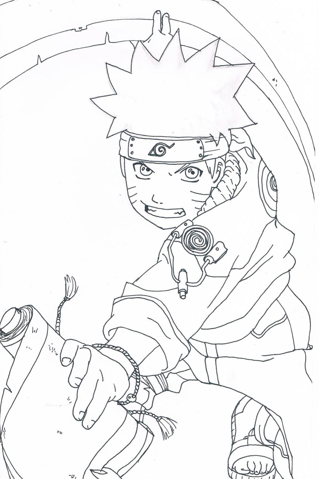 8100 Koleksi Gambar Naruto Keren Mudah Digambar HD Terbaru