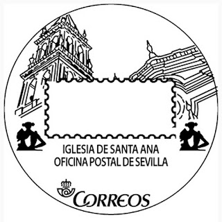 Matasellos turístico de la Oficina Postal de Sevilla - 2017