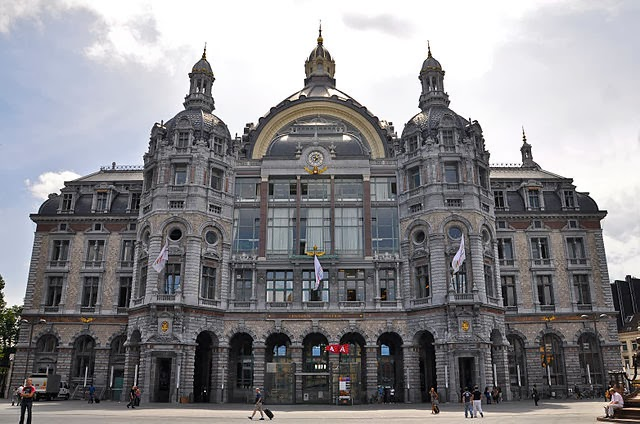 Antwerp Central railway stations,Belgium