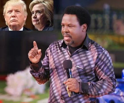 Prophet TB Joshua predicted wrongly on American elections