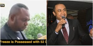 OAP Freeze is possessed by 52 demons -Pastor claims (WATCH)