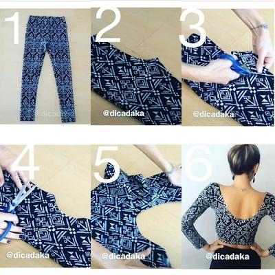 Resultado de imagem para diy roupas