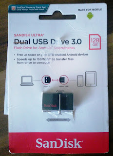 Sandisk 128 GB Dual USB 3.0 Usb Bellek