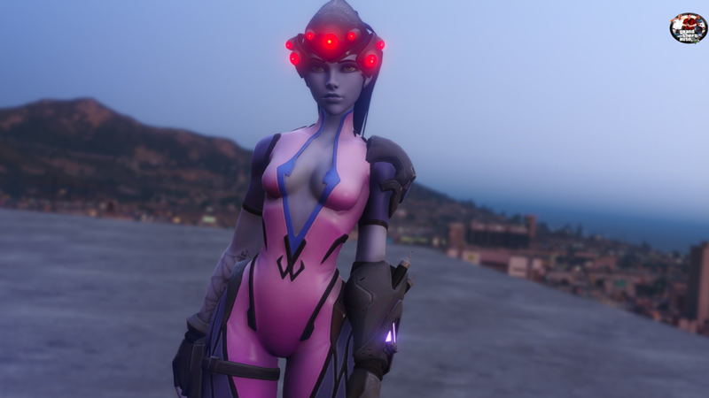 Widowmaker Overwatch [Add-On Ped / Replace] - GamesMods17