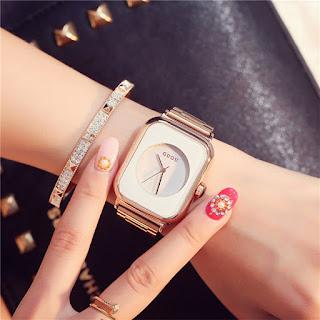 Fashion Luxury Gold Bracelet Woman Watch 2018