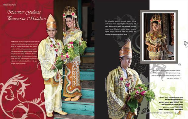 4 Pakaian Adat Kalimantan Selatan khas Banjar Gambar dan