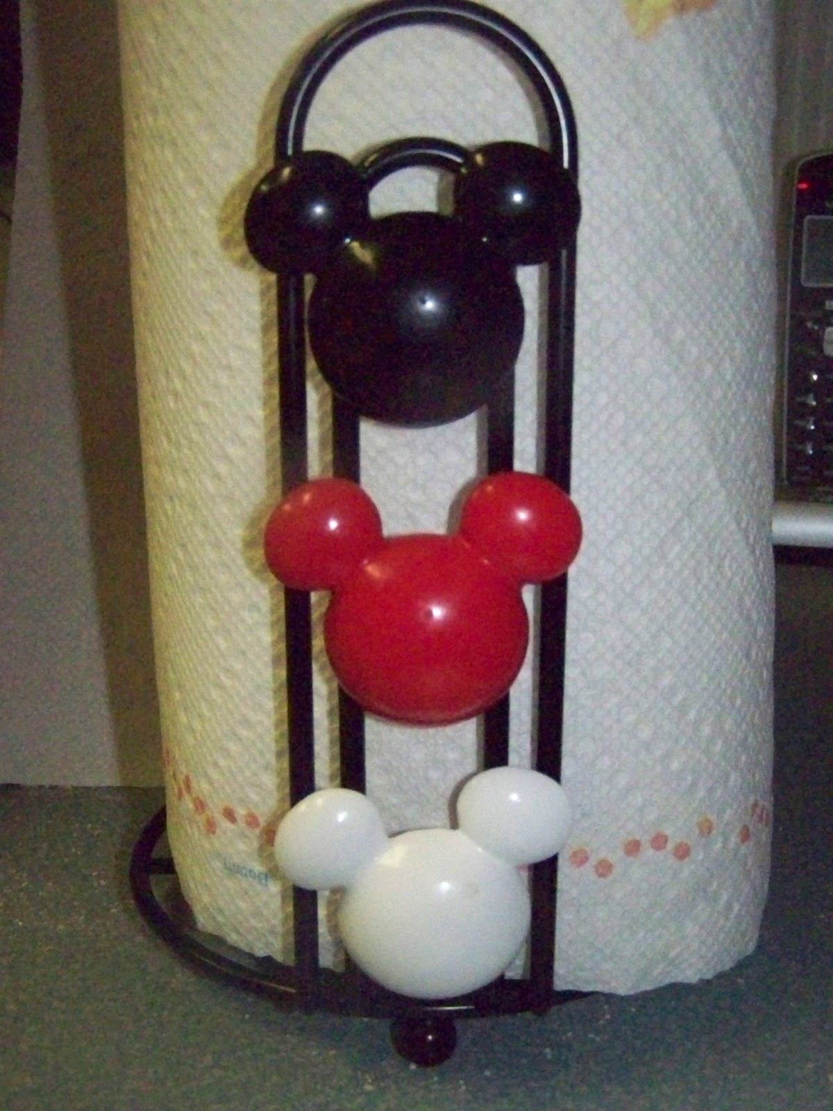 A To Z For Moms Like Me Mickey Mouse Paper Towel Holder