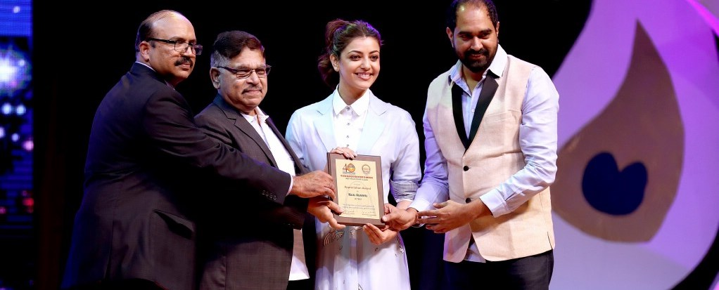 Tollywood Actress Kajal Aggarwal Photos At Tana Event 2017