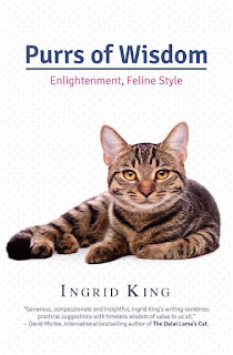 Purrs of Wisdom: Enlightenment, Feline Style book cover.