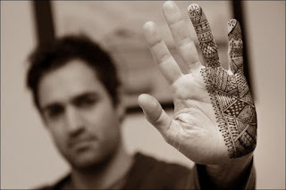 Mehndi Design for Man Hands