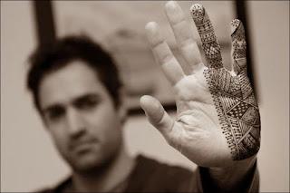 Mehndi Design for Man Hands