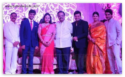 SP Balasubramaniam in Jyothirmayi's wedding