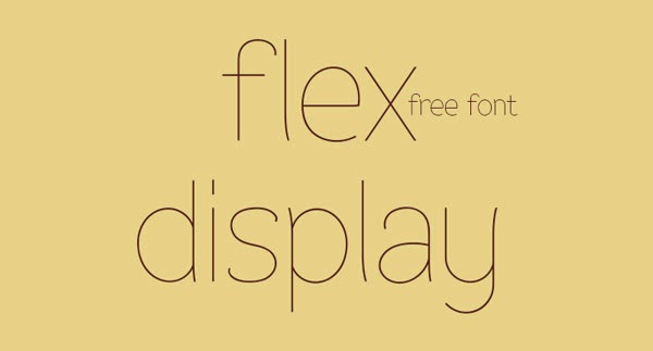 20 Font Gratis Terbaik Untuk Flat Design - Asbak Cokelat