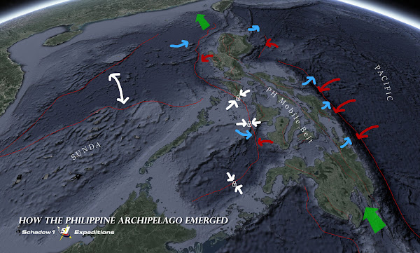 Philippine Crust Movement Diagram - Schadow1 Expeditions