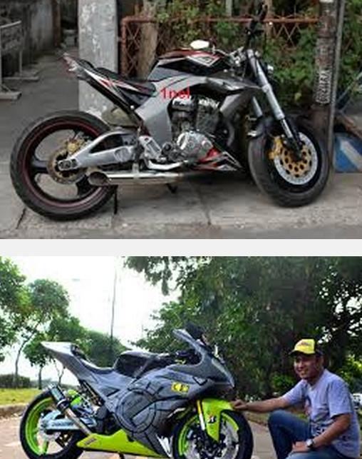 Modifikasi motor tiger jap stail touring ceper keren terbaru 2014