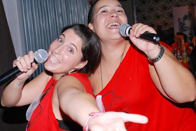 karaoke para despedida de soltera