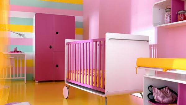 cuarto de bebé niña