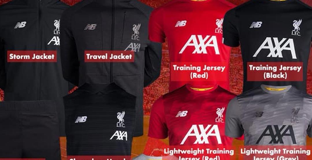 online retailer ea7cb a3ffc New Sponsor: Full Liverpool 19-20 Training + Pre-Match ...