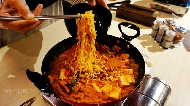 Budae Jeongol Kimchi Korean Restaurant Solo