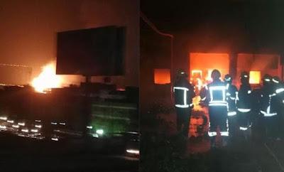فيديو 65 شرطيًا في مواجهة اللهب طيلة 5 ساعات تفاصيل حريق البساتين
