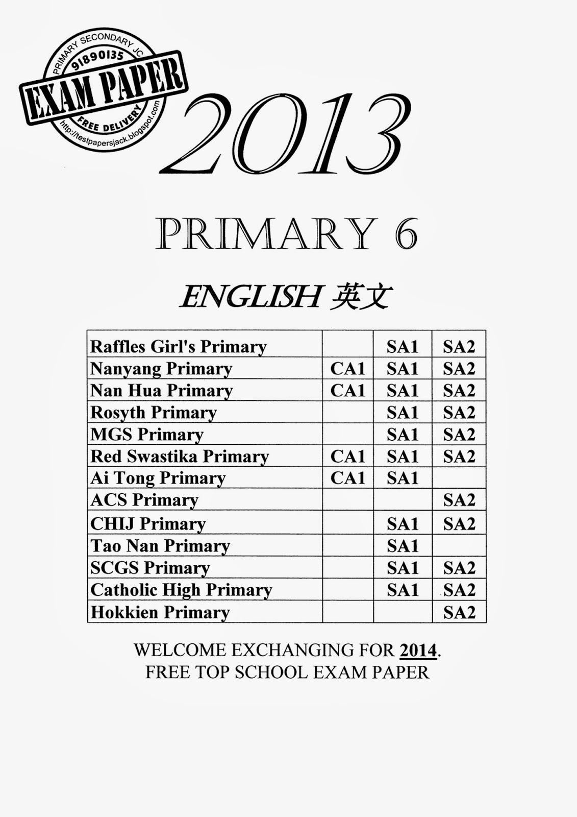 Exam Paper EXAM PAPER Exam Paper