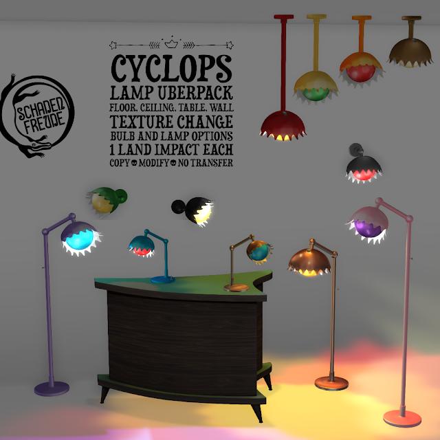 Schadenfreude Cyclops Lamps