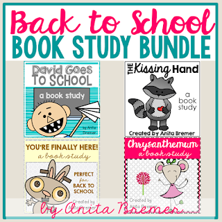 A collection of back to school book study companion activities for young learners. Lots of literacy ideas and guided reading activities for K-2. Common Core aligned. #backtoschool #bookstudy #1stgrade #2ndgrade #literacy #guidedreading #kindergarten #bookstudies #bookcompanion #bookcompanions #picturebookactivities #1stgradereading #2ndgradereading #kindergartenreading