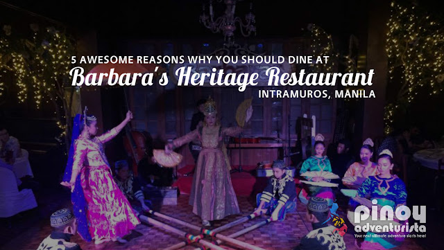 Barbaras Heritage Restaurant in Intramuros Manila