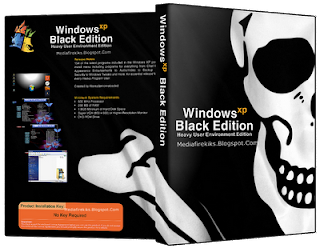 Windows XP Black Edition ISO 32 Bit Download Free