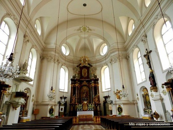 Iglesia de San Sebastián, Salzburgo, Austria