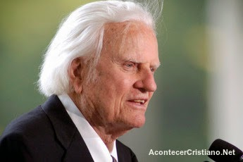 Billy Graham listo para ir al cielo