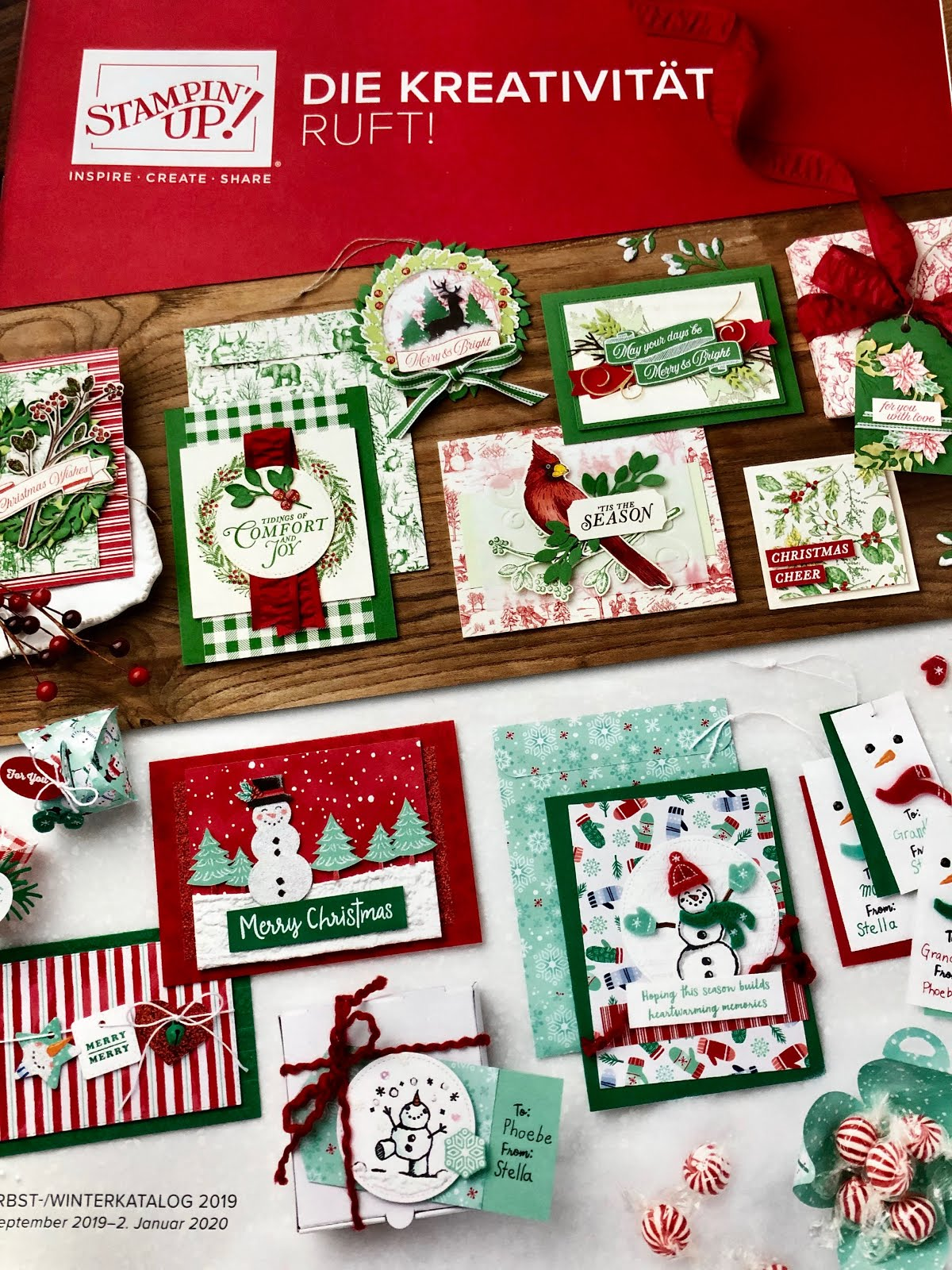 Stampin'Up! Herbst-Winterkatalog