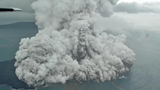 Terungkap! Dentuman Misterius Dipastikan Suara Erupsi Anak Krakatau