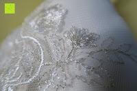 Pflanzen: Hochzeit Ringkissen mit Satin Bogen 21cm* 21cm