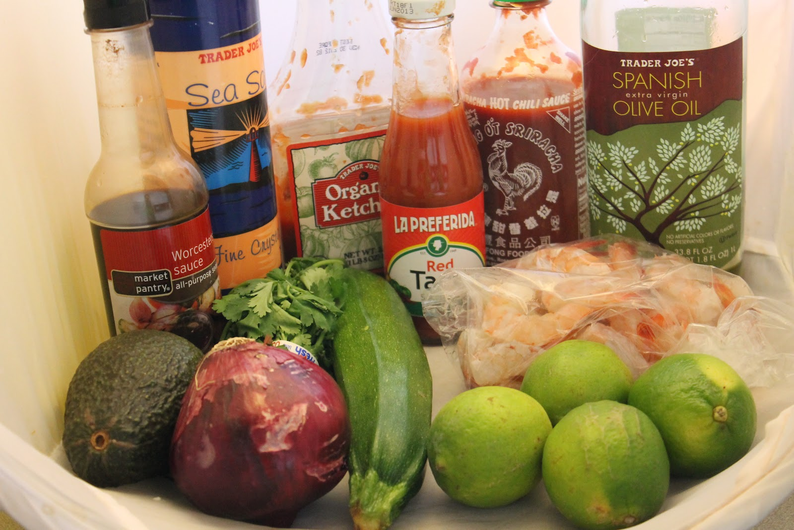 shrimp ceviche on jalapeno parmesan crisps kitchen table bakers I didn t read the recipe correctly before buying my ingredients so I actually asked the seafood place to peel and devein the shrimp