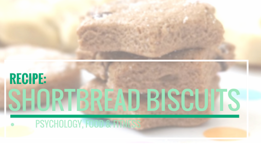 Recipe: Chocolate Chip Shortbread Biscuits!