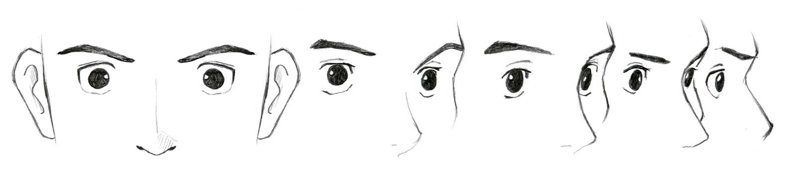 Johnnybros How To Draw Manga How To Draw Manga Eyes Part Iii