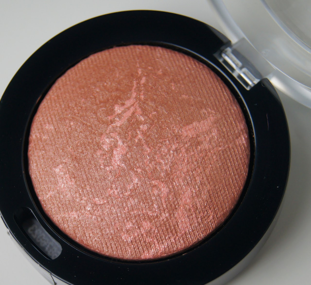 maxfactor creme puff blush 25 alluring rose review swatches